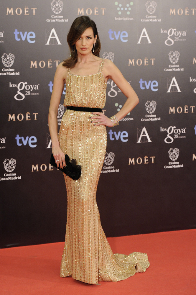 Nieves Alvarez de  Ralph and Russo Alta Costura