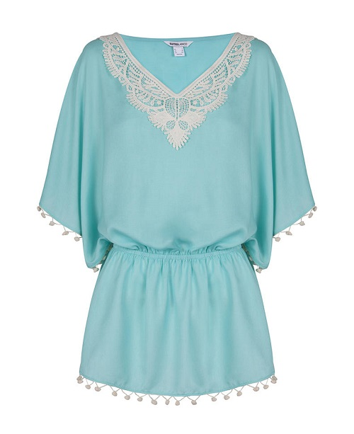 Kaftan playa de Blanco